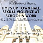 Time's Up Spokane! Sexual Violence at School & Work