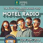 KYRS 15th Anniversary Party with Motel Radio, Matt Mitchell, Cursive Wires