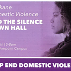 Spokane domestic violence town hall focuses on how to improve criminal justice system, survivor experiences