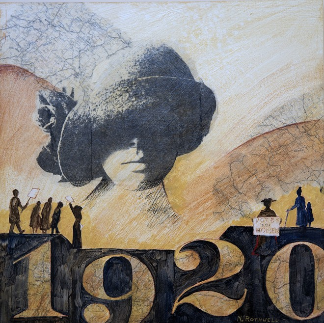 Women changed the world with their long and difficult struggle to obtain the right to vote.