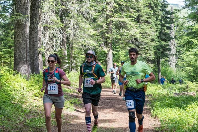 Mountain Magic provides options for 5/10/25k or marathon on gorgeous mountain trails.