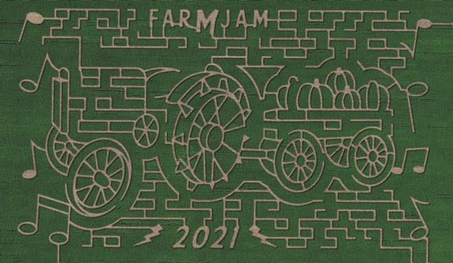 Colville Corn Maze 2021