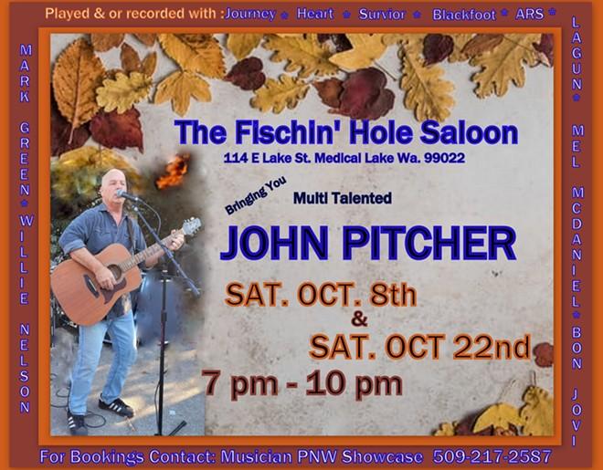 John Pitcher at The Fishin' Hole