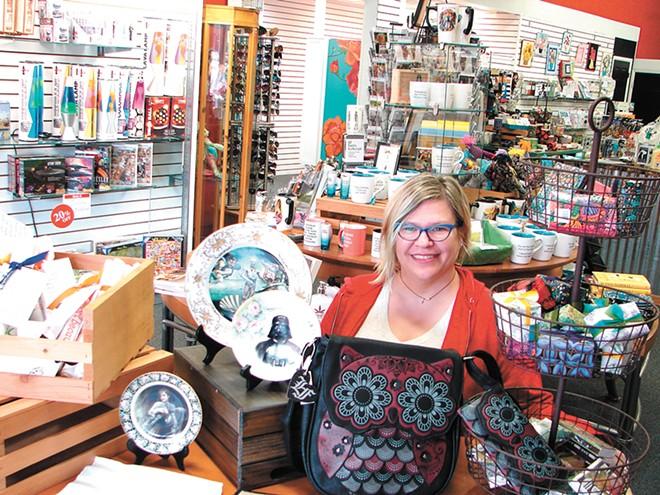 Zany Zebra's new owner, Julie Martin - CARRIE SCOZZARO