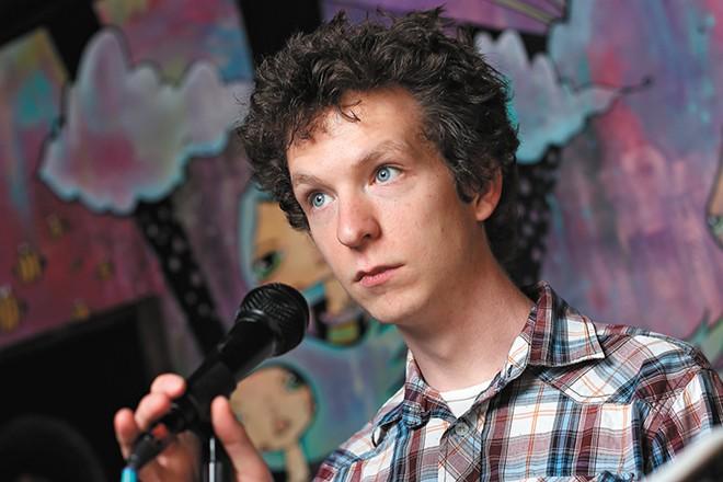 Spokane's current poet laureate Mark Anderson. - YOUNG KWAK