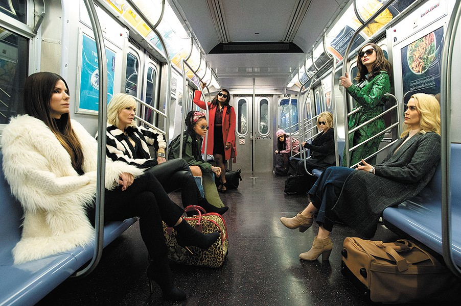 Ocean's 8 continues the franchise's penchant for cool comic capers with all-star casts.