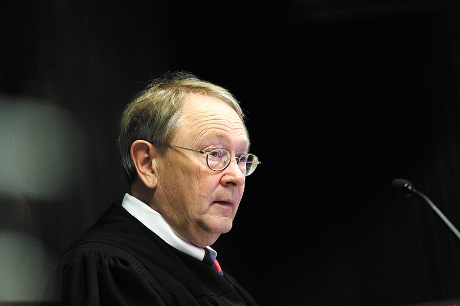 Fellow judges initially thought they could shoulder the caseload when Judge Gregory Tripp (pictured) retired. - YOUNG KWAK