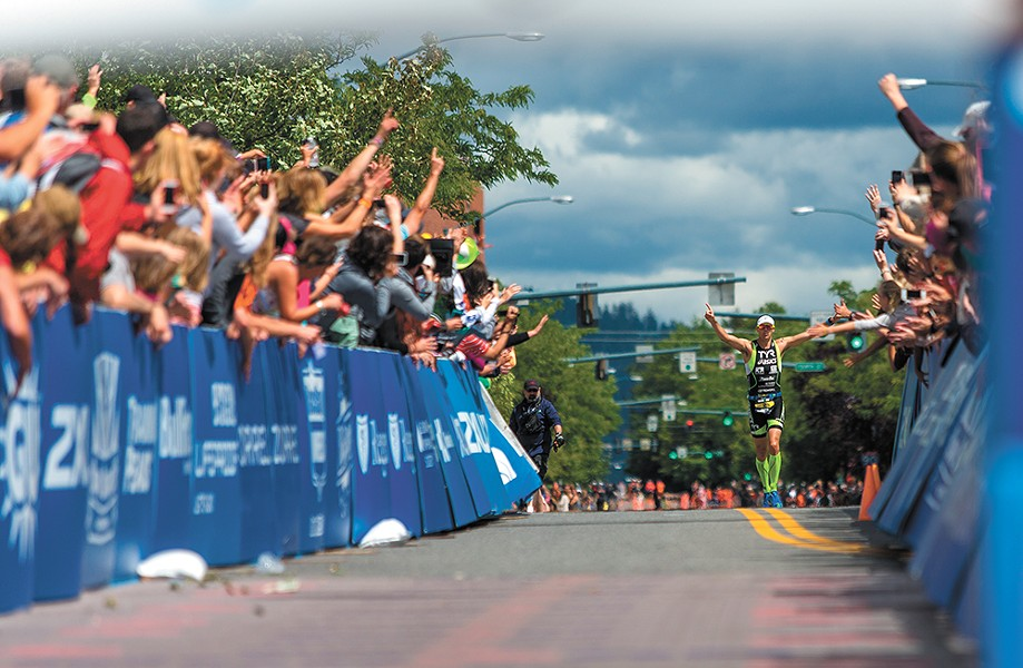 The Ironman 70.3-mile triathlon is set to run on Sunday, June 24.