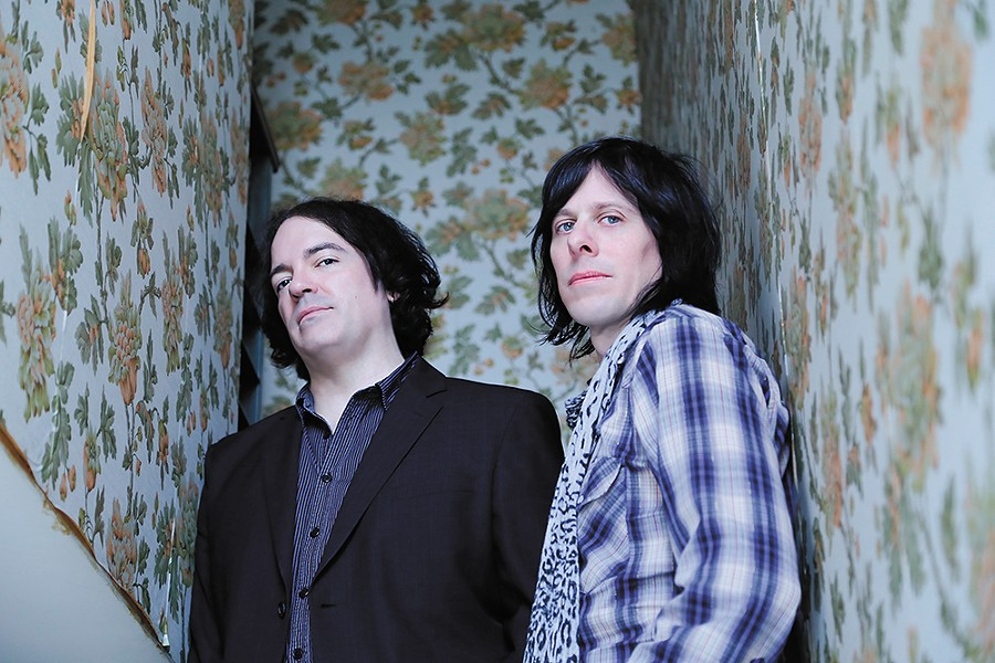 Jon Auer (left) and Ken Stringfellow of the Posies. - DOT PIERSON PHOTO