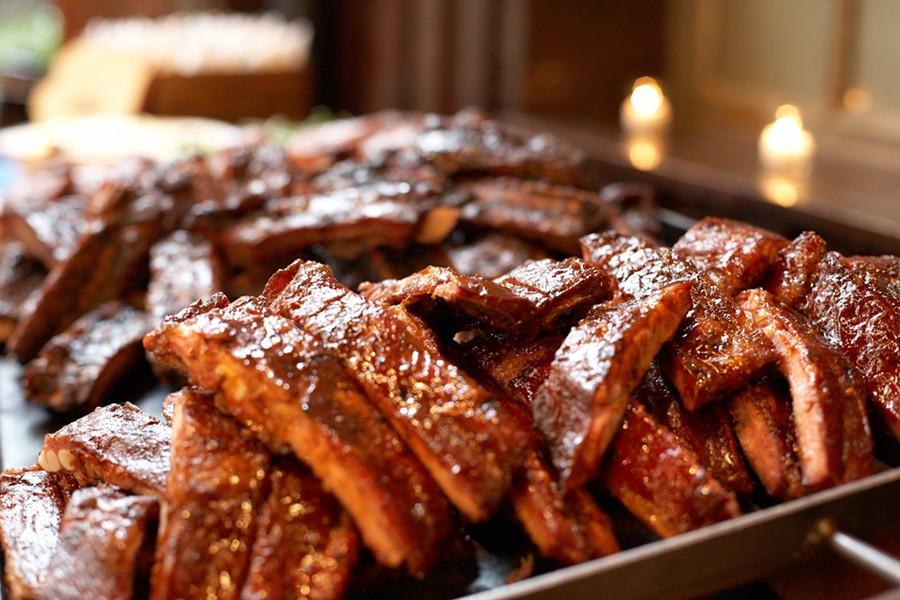 Settlers Creek ribs.