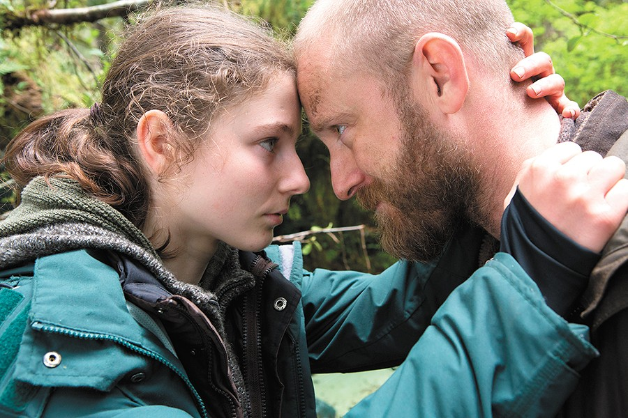 Thomasin Harcourt McKenzie and Ben Foster give moving performances in Leave No Trace.