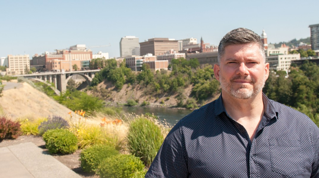 Urban consultant Brent Toderian says that the Spokane River gorge is downtown Spokane's most - DANIEL WALTERS PHOTO
