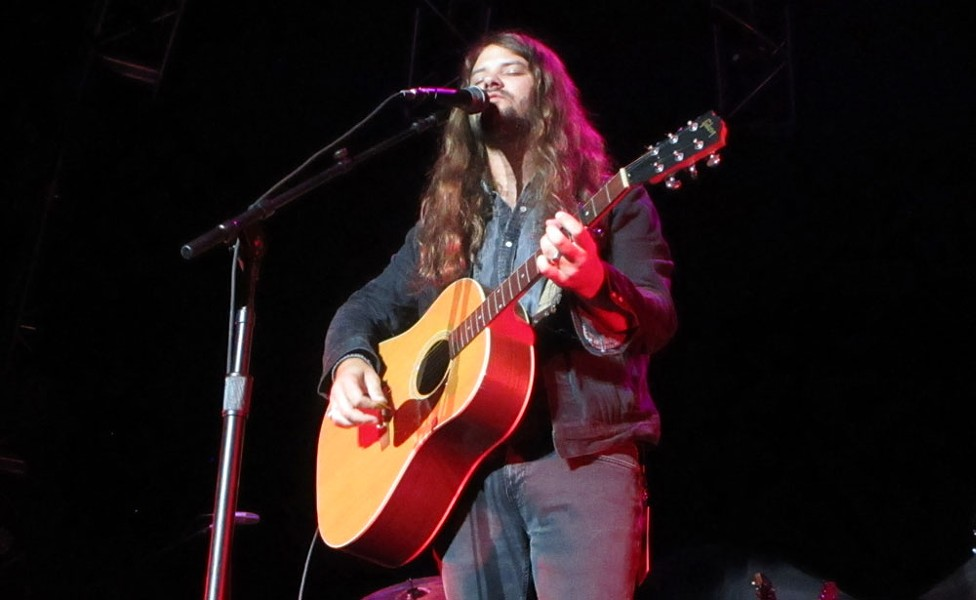Brent Cobb played a strong half-hour set to open the All American Roadshow. - DAN NAILEN