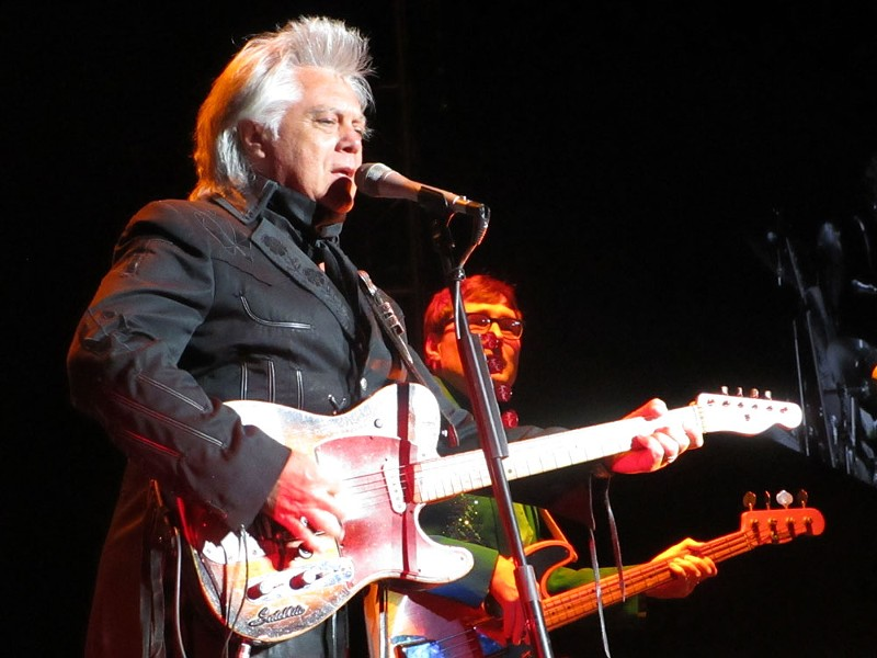 Marty Stuart is a country historian, and that comes thorugh in his concerts. - DAN NAILEN