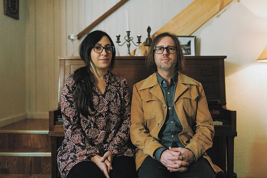 Jen Borst and Navid Eliot are the voices behind Planes on Paper, the folk duo that hits the Bartlett stage on Saturday. - NIRAV PATEL PHOTO