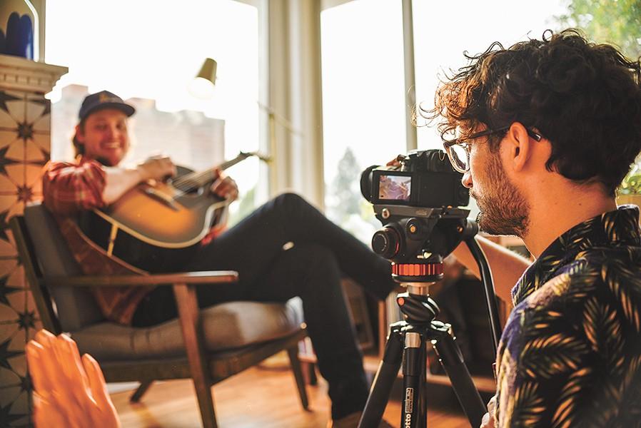 "Behind the scenes of the ""Carry Me"" video. - JASMINA PERKOVIĆ PHOTO"