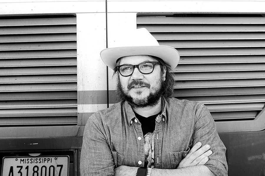 Three decades into his career, Wilco frontman Jeff Tweedy, now on a solo tour, says he has more energy than ever. - SAMMY TWEEDY PHOTO