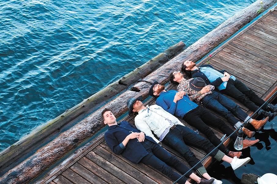 Seattle psych-rockers Motopony. - CAROLINE KERR PHOTO