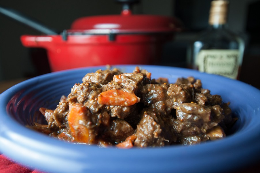 Cognac beef stew - DANIEL WALTERS PHOTO