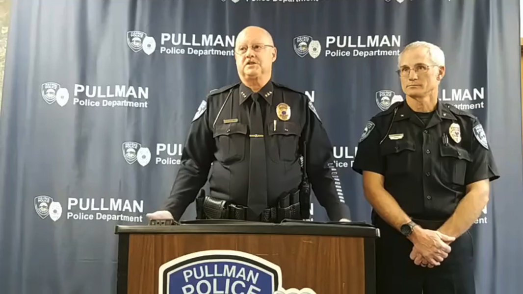 Police Chief Gary Jenkins during a press conference on Oct. 30, regarding an alleged sexual assault. - FACEBOOK SCREENSHOT