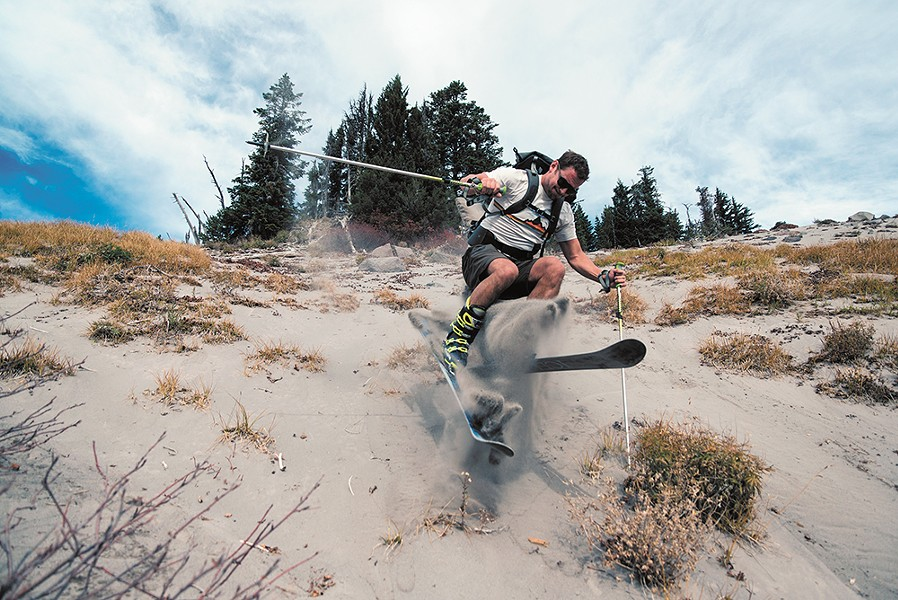 The author has skiied every month for five years. - CASEY GARRET JOHNSON PHOTO
