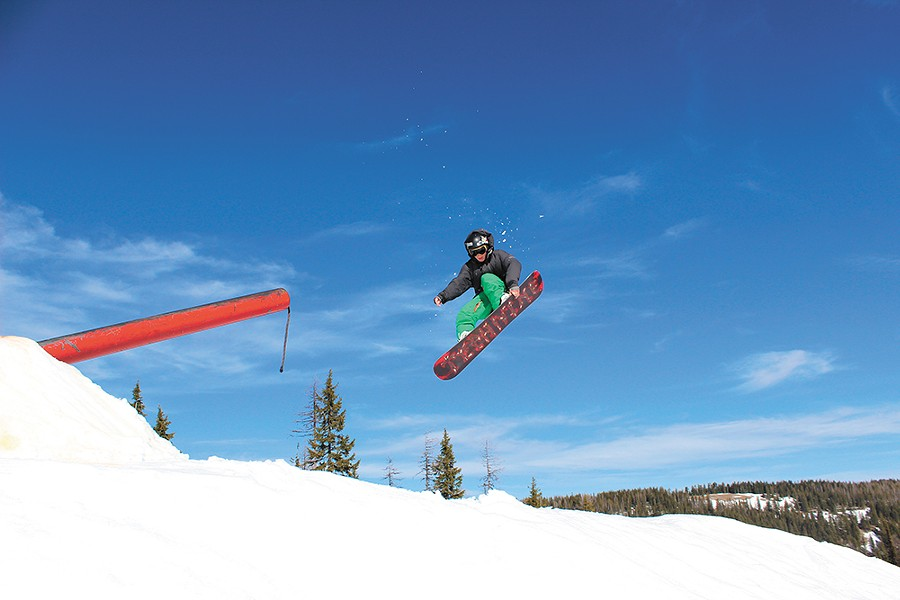 Growing up changes your perspective on the height of winter. - SILVER MOUNTAIN RESORT PHOTO