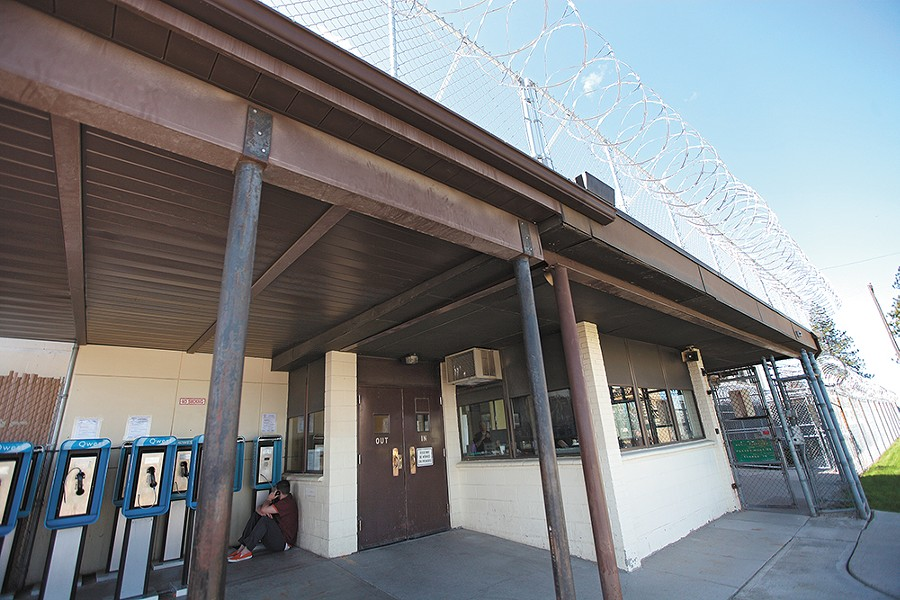 Geiger Corrections Center — a former military barracks near the airport — began housing inmates in 1997. - YOUNG KWAK