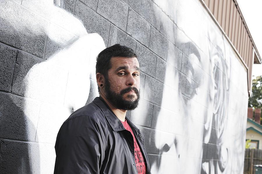 Artist Daniel Lopez is featured at Spokane Art School. - YOUNG KWAK