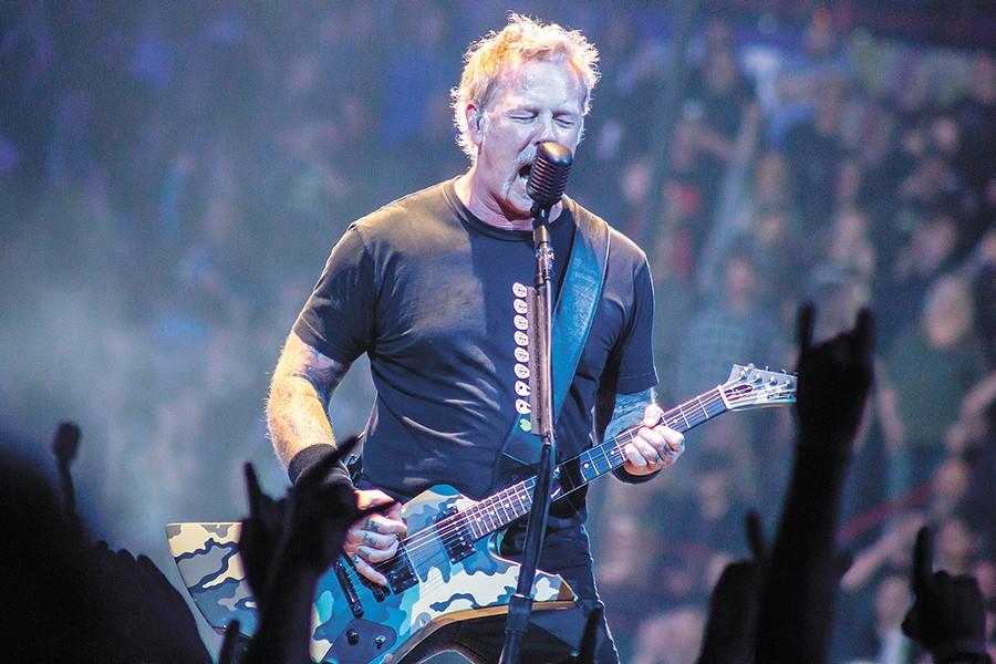 Three decades in, and Metallica is still rocking. - QUINN WELSCH PHOTO