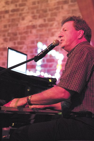 After playing in piano bars for 32 years, co-owner Steve Ridler finally has his own place. - YOUNG KWAK