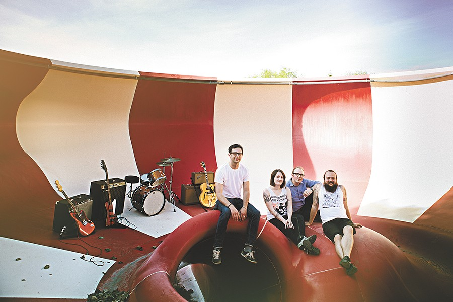 Local instrumental surf rockers BBBBandits are calling it quits. - KRISTEN BLACK