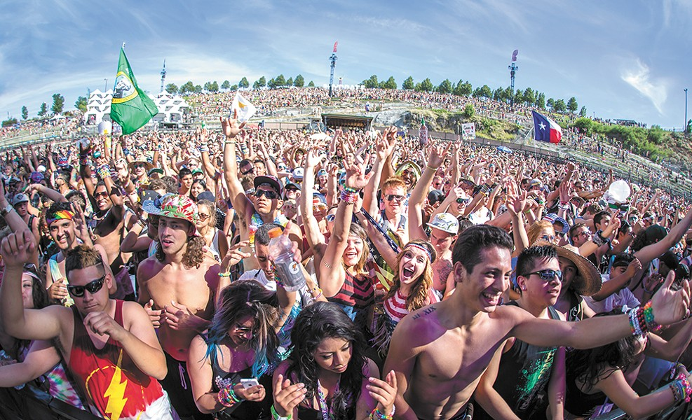 The scene at the Paradiso Festival last month. - USCEVENTS PHOTO