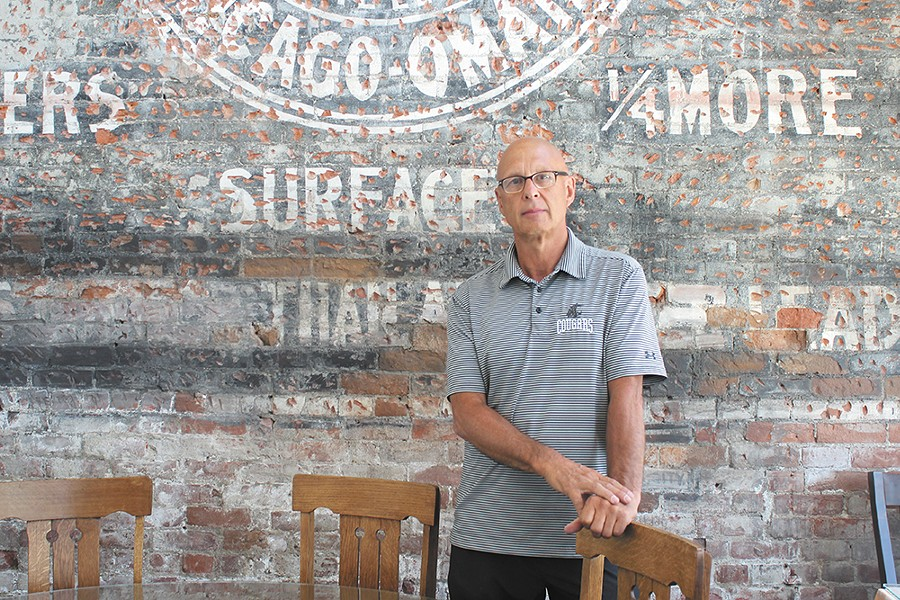 Steve Warwick, owner of Fonks Coffeehouse - MATT SALZANO