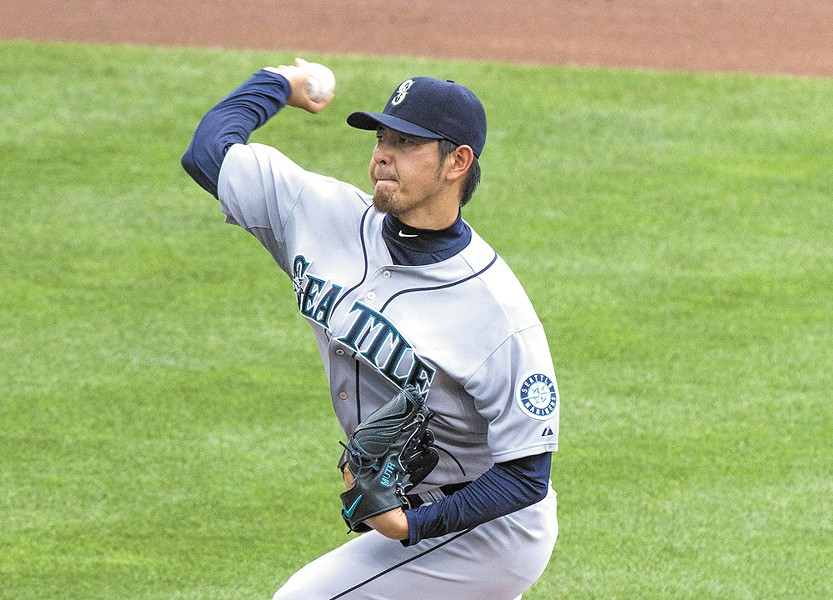 Hisashi Iwakuma's no-hitter was follwed by a weekend of baseball absurdity. - KEITH ALLISON PHOTO