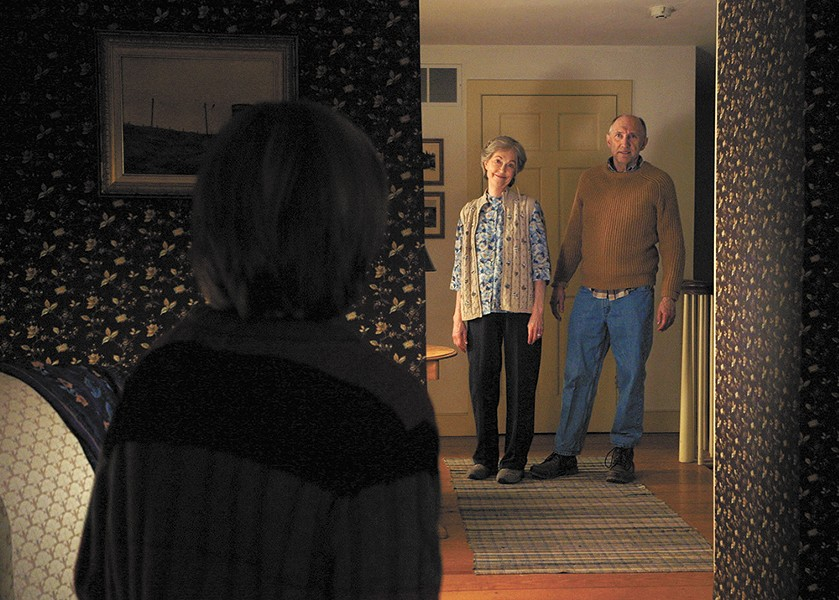 Grandma and Grandpa get pretty weird in The Visit.