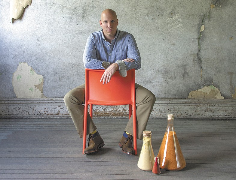Spiceologist owners Pete Taylor cut a national deal with Williams-Sonoma. - PATRICK KIPSKER
