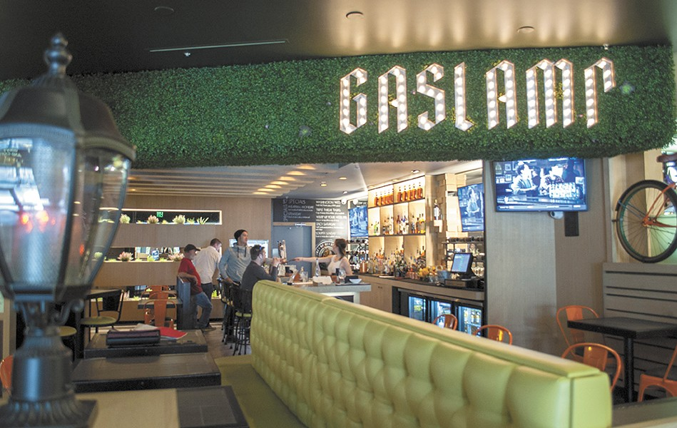 The Gaslamp recently opened in River Park Square. - SARAH WURTZ