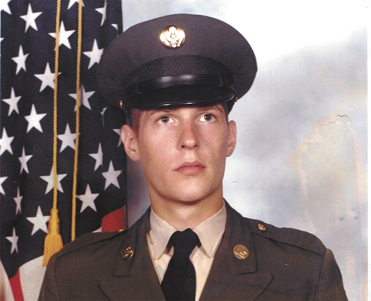 Robert Parkinson served in the U.S. Army from 1979-82. He carried his military papers around with him until the day he died.