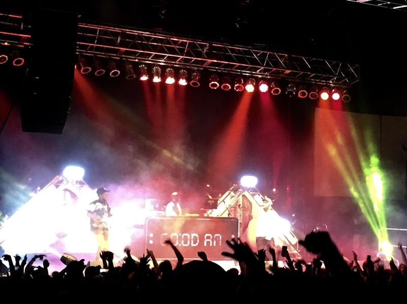 Mac Miller and the GO:OD AM Tour raged through Spokane Saturday night. - MAX CARTER