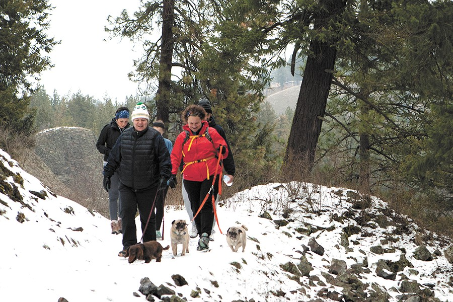 Get outside to experience the natural winter wonderland of Riverside State Park.