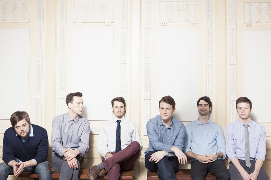 There are a lot of white guys in west-sider indie folk-pop act Hey Marseilles.