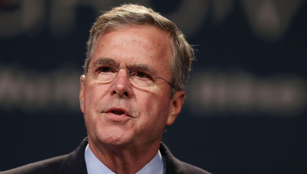 Jeb Bush: Beloved by donors, ignored by voters.