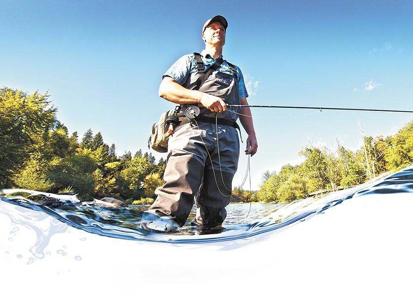 Spokane Riverkeeper, Jerry White. - YOUNG KWAK
