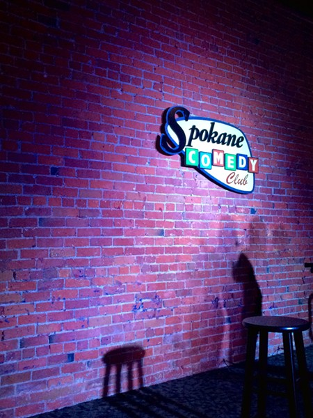 That classic brick wall stage backdrop.