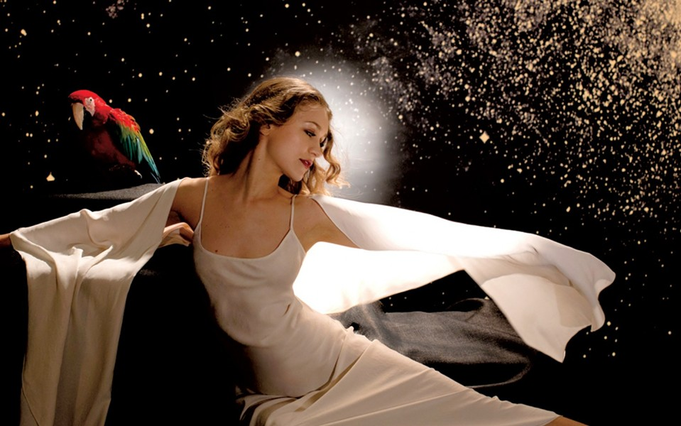 No one was allowed to take photos or video during the Joanna Newsom show last night. One usher was especially vocal in telling people to put their phones away.