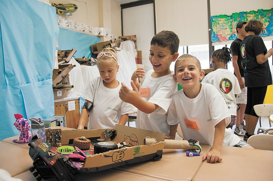 Camp Invention lets kids explore STEM concepts in a fun and interactive setting.