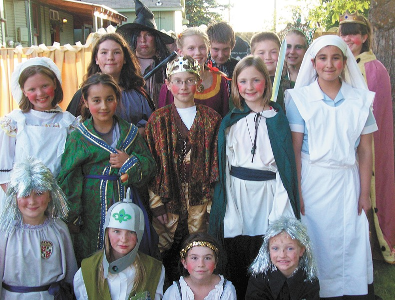 Discover your inner Shakespeare during the Lion's Share Theater's drama camp.