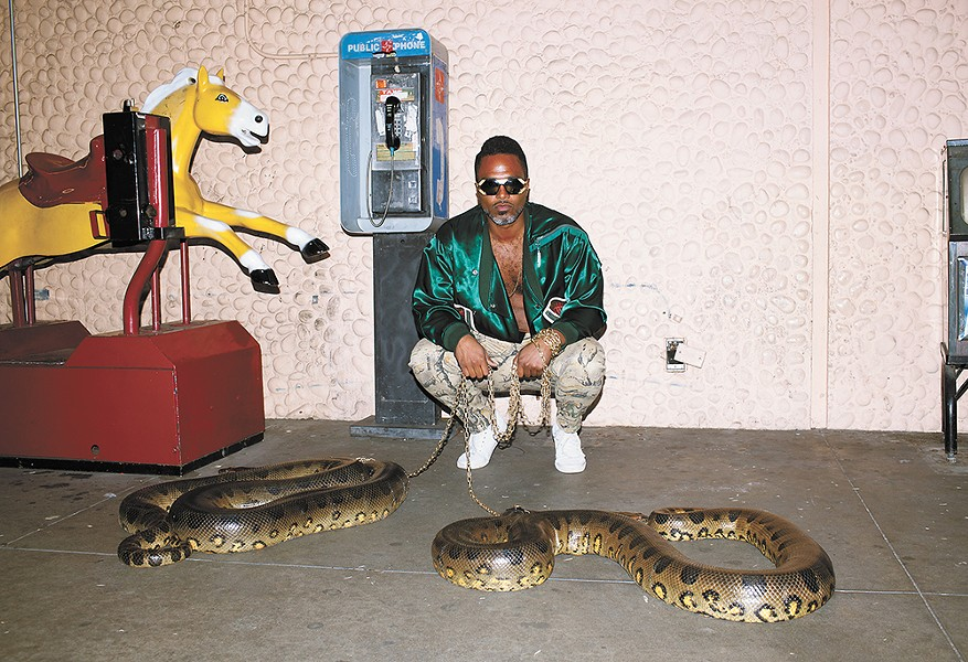 Shabazz Palaces' Ishmael Butler says he's not the biggest fan of snakes.
