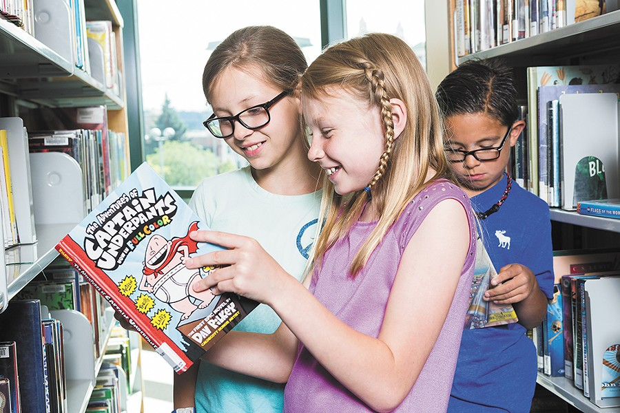 Read — and compete — with the public library's Summer Reading Program.