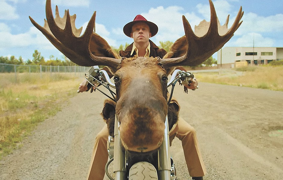 Don't have a moose motorcycle? No problem.